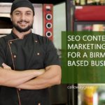 SEO Content Marketing for a Birmingham Based Business
