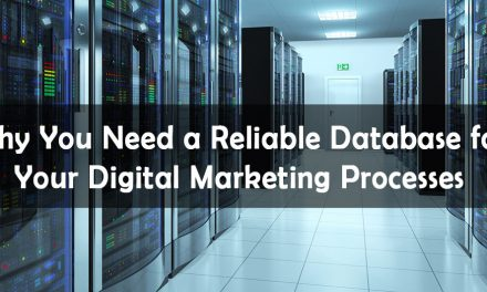 Why You Need a Reliable Database for Your Digital Marketing Processes